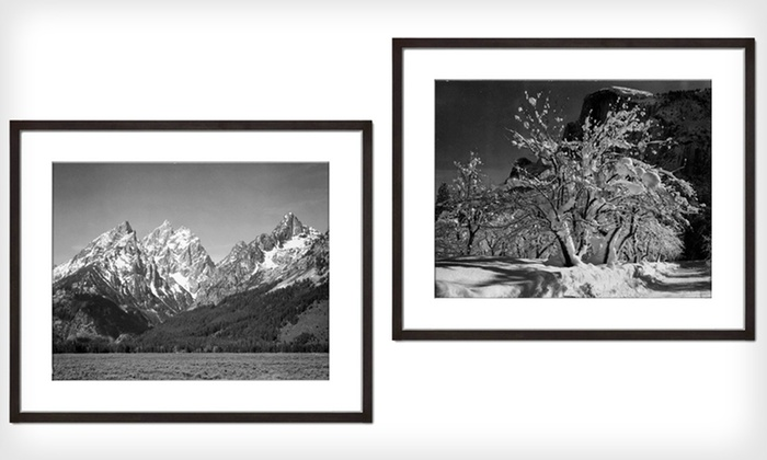 Framed Ansel Adams Print: $69 for a Framed Ansel Adams Art Print ($232 List Price). 15 Options Available. Free Shipping and Free Returns.