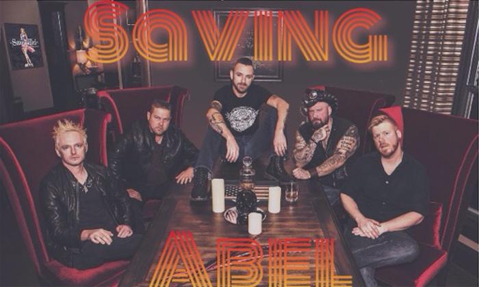 Saving Abel - Sunshine Studios Live: Saving Abel on Saturday, February 10, at 7 p.m.