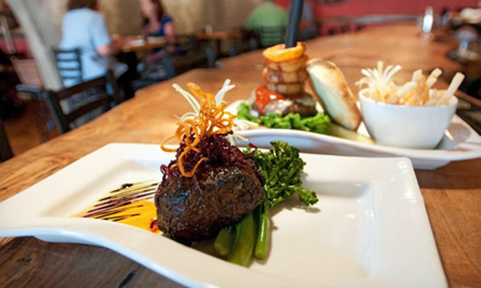 The Square Root - Hendersonville: Upscale American Lunch or Dinner Food at The Square Root (Up to 53% Off)