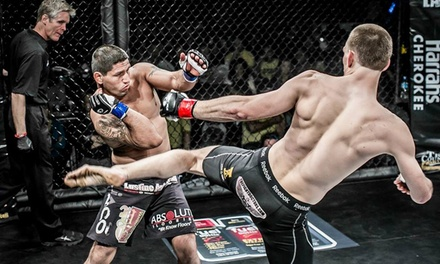 One Ticket to the Fight Lab 43 MMA Event at Grady Cole Center on Saturday, January 24, at 6 p.m.