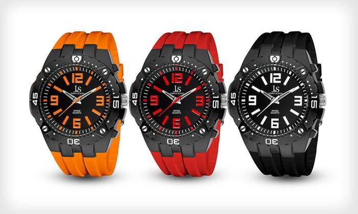 Joshua & Sons Swiss Sport Quartz Watches: Joshua & Sons Men's Swiss Sport Quartz Watch (Up to 89% Off). 12 Styles Available. Free Returns.