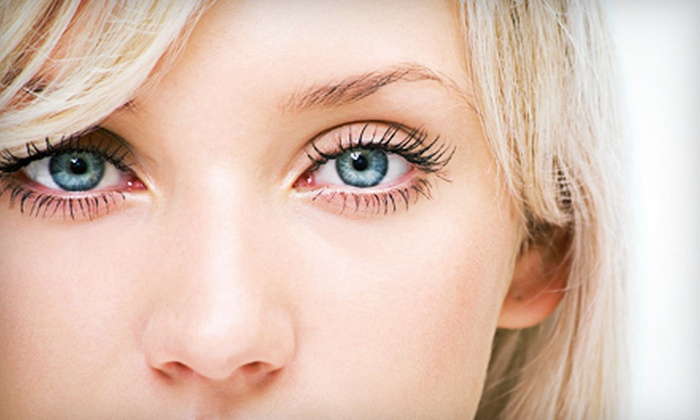Blink Beauty NYC - Union Square: Cluster, Glam, or Xtreme Glam Lash Extensions with Blowout, or Three Sets of Lashes at Blink Beauty NYC (Up to 79% Off)