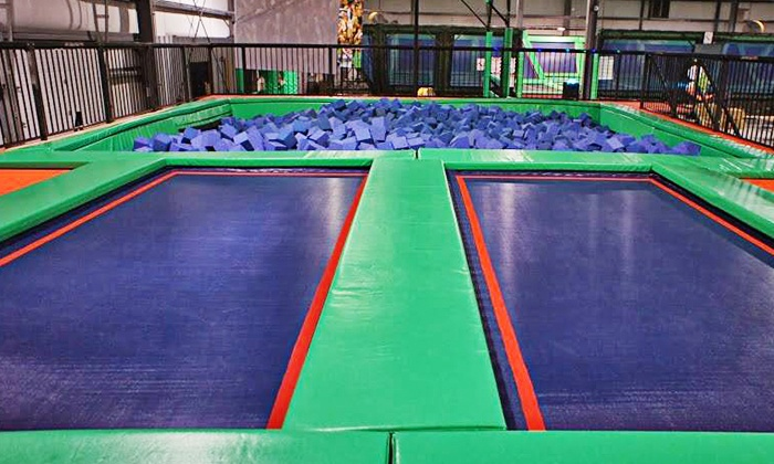 Rebounderz Of Newport News - Kiln Creek: $13 for Two 60-Minute Jump Sessions at Rebounderz Of Newport News ($26 Value)