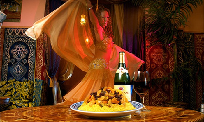 Marrakesh Moroccan Restaurant - Northwest District: $20 for $40 Worth of Moroccan Food and Drinks for Two or More at Marrakesh Moroccan Restaurant
