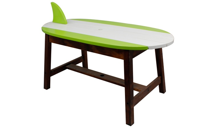 ... Teamson Winland Surfboard Table And Benches Set
