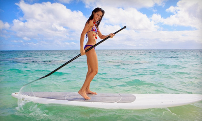 First Coast SUP - Lighthouse Park: Standup Paddleboarding at First Coast SUP (Up to 59% Off). Four Options Available.