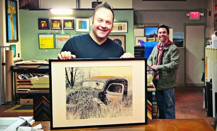 $100 Groupon for Custom Framing - The Preservation Framer in North Attleboro