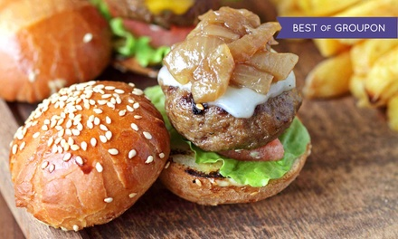 American Grill Food at The Lodge Sports Grille (Up to 43% Off). Two Options Available.
