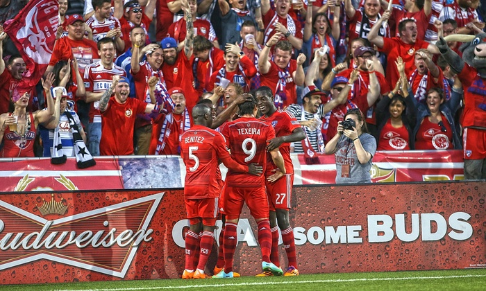 FC Dallas - Toyota Stadium: FC Dallas Match Featuring Men's National Team Stars at Toyota Stadium on October 12 (Up to 54% Off)