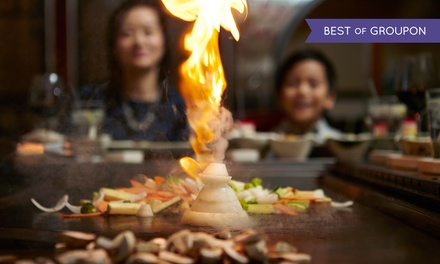 Hibachi Dinner for Two or Four at Fujiyama Steak House of Japan (Up to 50% Off)