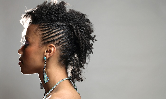 Passion of Braids - Raleigh: Natural Style/Loc Maintenance, Adult Cornrows, or Weave at Passion of Braids (Up to 53% Off)