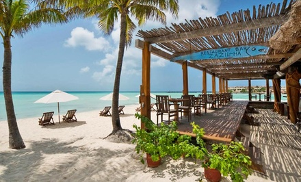 3-, 4-, or 7-Night Stay for Two with Breakfast at Hotel Na Balam in Isla Mujeres, Mexico