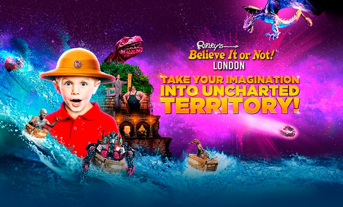 Ripley's Believe It or Not!, 21 April - 31 May (Up to 46% Off)