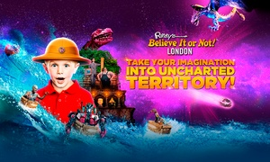 Ripley's Believe It or Not!: Entry to Ripley's Believe It or Not! with a Mirror Maze, Laser Race and a Guidebook, 30 April - 31 May (Up to 50% Off)