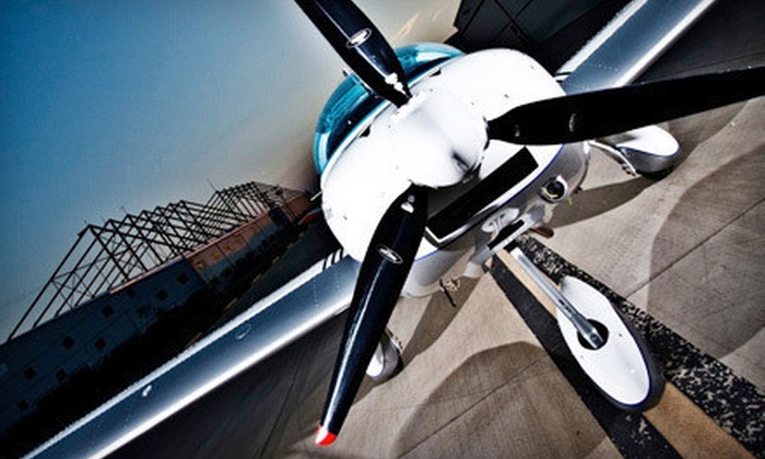 US Sport Aircraft - Addison: 90-Minute Introductory Flight Lesson or 15-Hour Flight Training Course from US Sport Aircraft (Up to 51% Off)