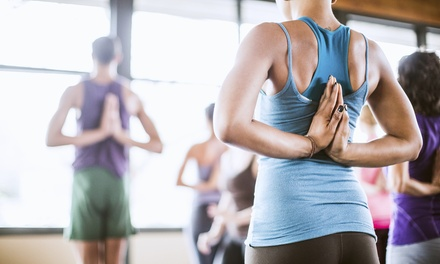 One Month of Unlimited Yoga, or 5 or 10 Yoga Classes at Sacred Path Yoga (Up to 69% Off)