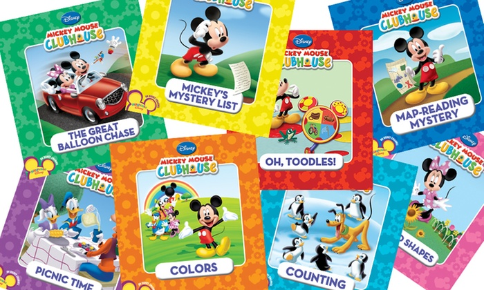 Disney's Mickey Mouse Clubhouse 8-Book Set: Disney's Mickey Mouse Clubhouse 8-Book Set
