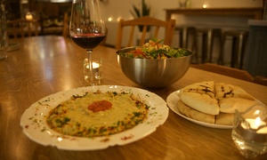 Birona - Hummus bar: C$15 for a C$30 Voucher Applicable on the Entire Menu Including Alcoholic Drinks at Birona Mediterranean Hummus Bar