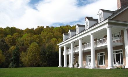 Groupon Deal: 2-Night Stay with Daily Breakfast, Wine Bottle, and Daily Resort Fee at Christopher Place in Great Smoky Mountains, TN