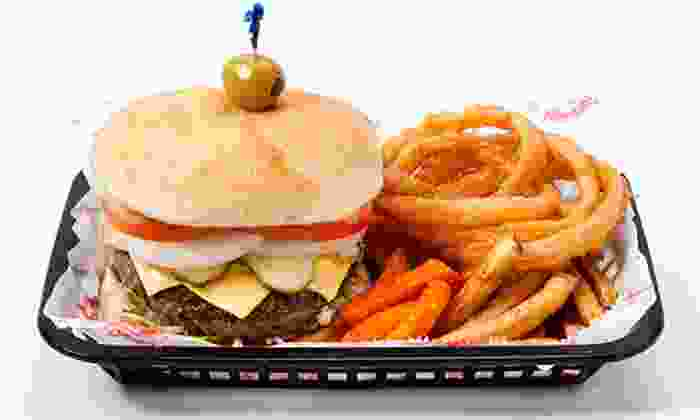 Cheeburger Cheeburger - Downtown Chattanooga: $9 for $16 Worth of American Food at Cheeburger Cheeburger