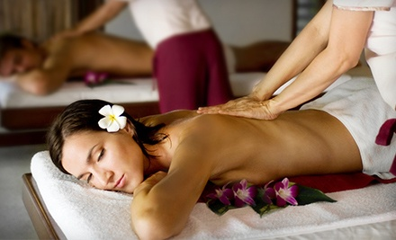 Couples Massage or Intuitive Massage with Optional Reflexology or Acutapping at Equilibrium Zen Gym (Up to 63% Off)