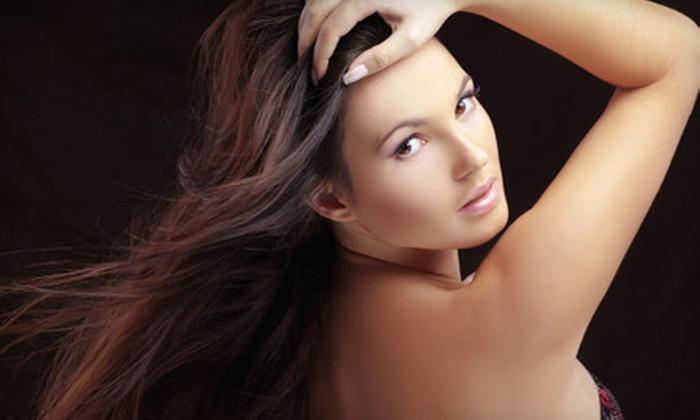 Avanti Hair Salon - White Plains: One or Two Moroccanoil Treatments or One Moroccanoil or Keratin Treatment with a Mani Avanti Hair Salon (Up to 64% Off)
