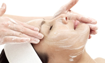 One One-Hour Cleansing or Anti-Aging Facial at Red Hots Salon (Up to 57% Off)