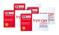 4 Shell Fuel Rewards Cards