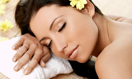 Spray Tan Package with Hydro-Massage and Facial at Planet Beach in Manhattan (Up to 88% Off)