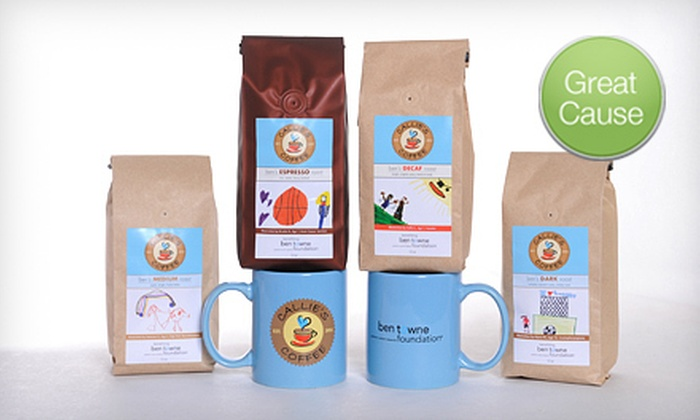 Callie's Coffee - Medina: $44 for Fair-Trade Coffee from Callie's Coffee