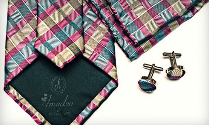 Amedeo Exclusive - Downtown: Men's Apparel and Accessories at Amedeo Exclusive (Up to 74% Off). Three Options Available.