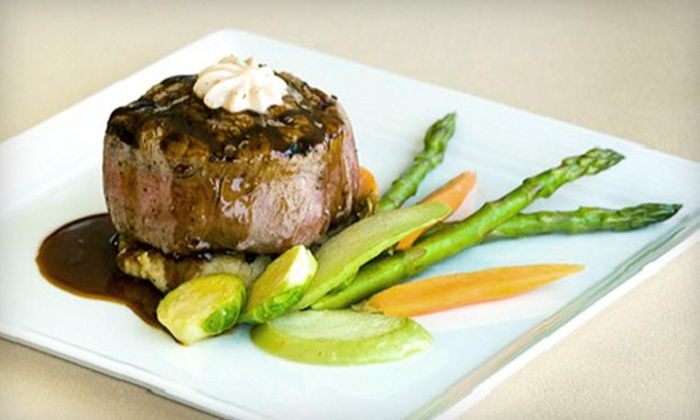 The Summit Club - South Bend: Upscale Steak-House Fare at The Summit Club (Half Off). Two Options Available.
