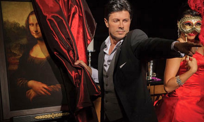 """Ivan Amodei - Historic Mayflower D.C.: """"Ivan Amodei's Intimate Illusions: A Magical & Musical Experience"""" on July 11 or 12 (Up to 47% Off)"""