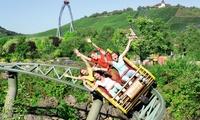 Eintritt in den Erlebnispark Tripsdrill inkl. Wildparadies und Mittagsgericht mit Softdrink (31% sparen*)