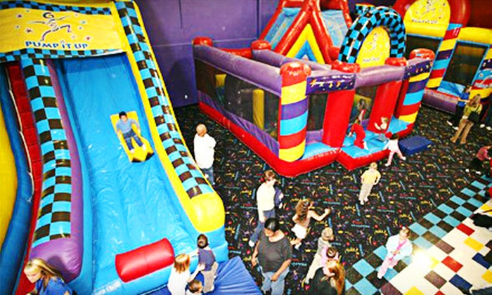Pump It Up - Randolph: 5 or 10 Pop-In Playtime Sessions at Pump It Up in Randolph (Up to 59% Off)