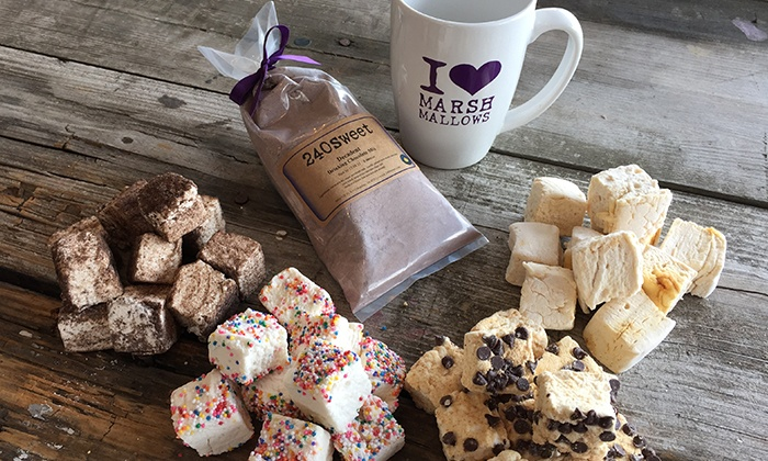 240sweet - Columbus: $35 for a Too Sweet Gift Set Featuring Marshmallows and Hot Chocolate from 240sweet ($75 Value)