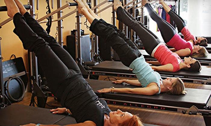 Pilates of Palm Beach - Boynton Beach: $75 Toward Group Fitness Class Packs