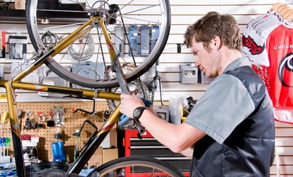 image for $9 for $16 Worth of Bicycle Repair — Isanti Bicycle