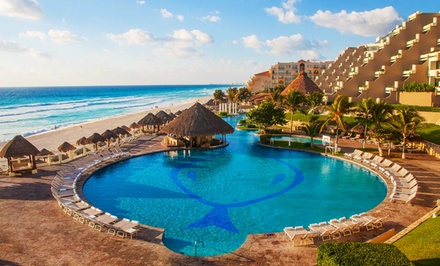 Groupon Deal: All-Inclusive Paradisus Cancún Vacation with Airfare. Price/Person Based on Double Occupancy. Includes Taxes and Fees.