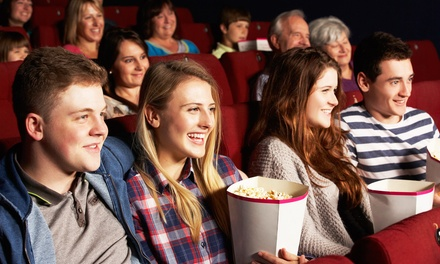 Movie with Popcorn and Drinks for Two or Four, or 10 Movie Tickets at Cottonwood 4 Cinemas (Up to 51% Off)