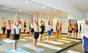 Bikram Yoga: 15 Drop-In Yoga Classes or Month of Unlimited Classes at Bikram Yoga (Up to 91% Off)