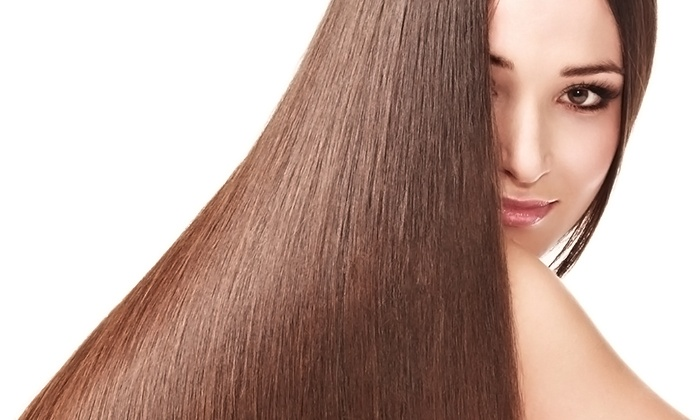 Theo's of Princeton Salon - Princeton: Haircut or Keratin Smoothing Treatment at Theo's of Princeton Salon (Up to 72% Off). Four Options Available.