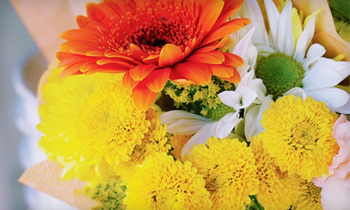 We Luv Flowers by Faith - Multiple Locations: Flower Arrangements at We Luv Flowers by Faith (Up to 62% Off). Two Options Available.