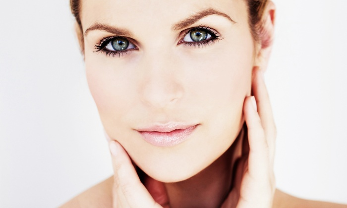 Ideal Glow - Ideal Glow: One, Two, or Four Skincare Packages with Microdermabrasion and Photorejuvenation at Ideal Glow (Up to 68% Off)