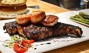 Up to 45% Off Steaks and Seafood at Prime 13 at Prime 13, plus 9.0% Cash Back from Ebates.