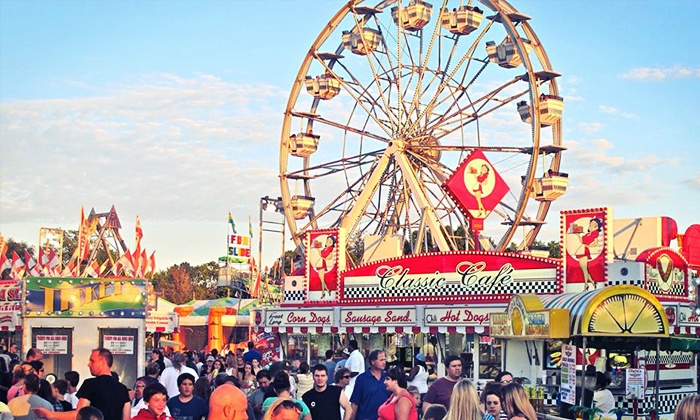 Georgia State Fair - Atlanta Motor Speedway: Georgia State Fair Visit for Two, Four, Six, or Eight with VIP Parking (Up to 46% Off)