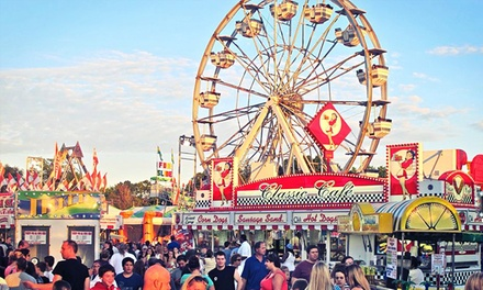 Georgia State Fair Visit for Two, Four, Six, or Eight with VIP Parking (Up to 46% Off)