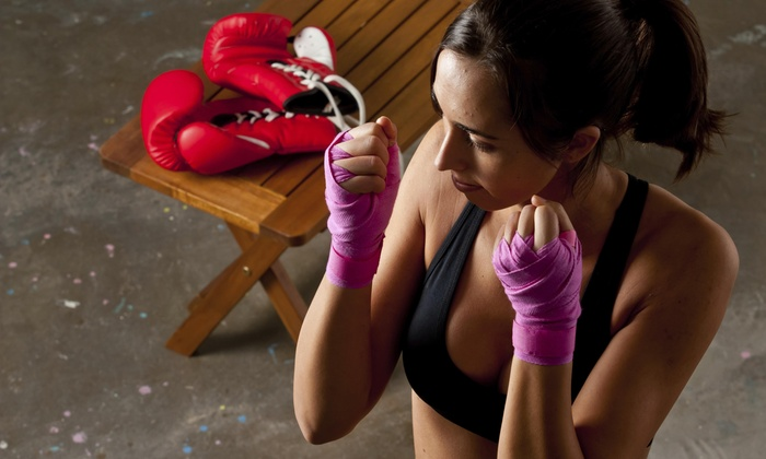 Dietrich's Kickboxing - Burke: Up to 83% Off Kickboxing Classes  at Dietrich's Karate