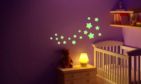 Pegatinas de pared que brillan en la oscuridad