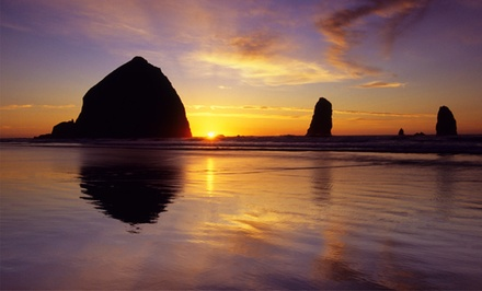 2-Night Stay at The Courtyard in Cannon Beach, OR from The Courtyard - Cannon Beach, OR